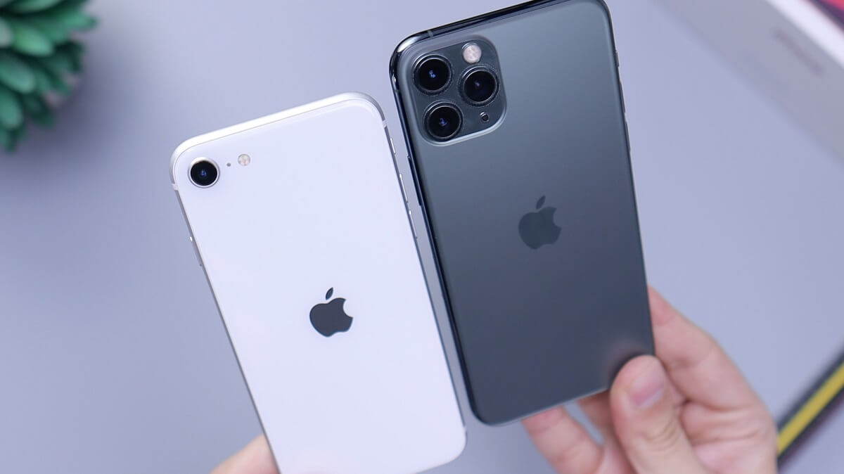 IPHONE SEとIPHONE11 PROの比較