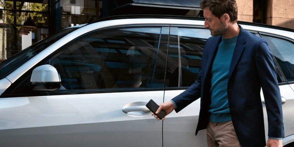 BMWをiphoneで操作する