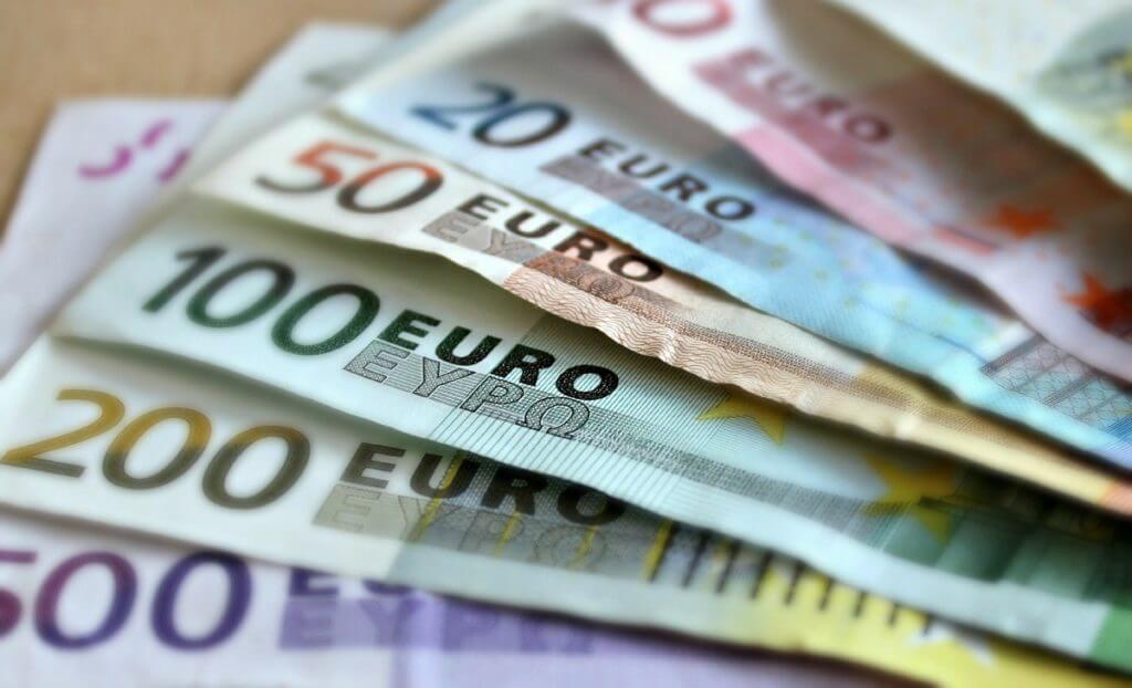 ヨーロッパのお札