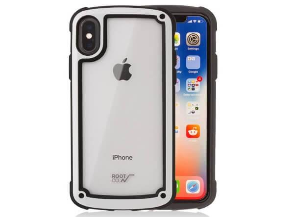 【ROOT CO.】iPhoneX iPhoneXS 衝撃吸収 ケース Gravity Shock Resist Tough & Basic Case.